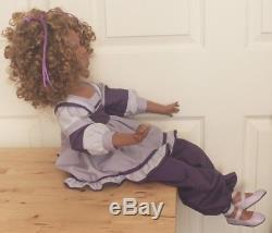 Vtg 1998 Jan Mclean Molly En Exclusivité Votre Poupée De Porcelaine Afro-américaine # 563