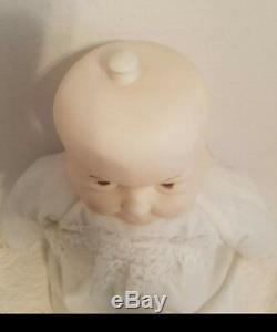 Vtg. 3 Visages De Poupée En Porcelaine Eve Heureux Triste Poupée Endormie 21 Hauteur