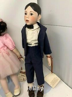 Vtg Little Rascals Dolls 1993 King World Collection Hamilton Numéroté Lot De 6