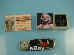 Vtg Marilyn Monroe Poupées Franklin En Porcelaine Menthe Et Objets D'art Encadrés, Objets De Collection