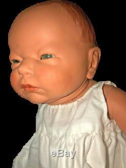 Vtg Porcelaine Réincarné Baby Girl Sabrina 8/12/86 4lbs Par Kay Mckee Galerie Mondiale