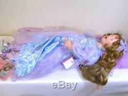Vtg Retraité Nib Sleeping Beauty Porcelaine 34 Galeries Paradise Grand Belle